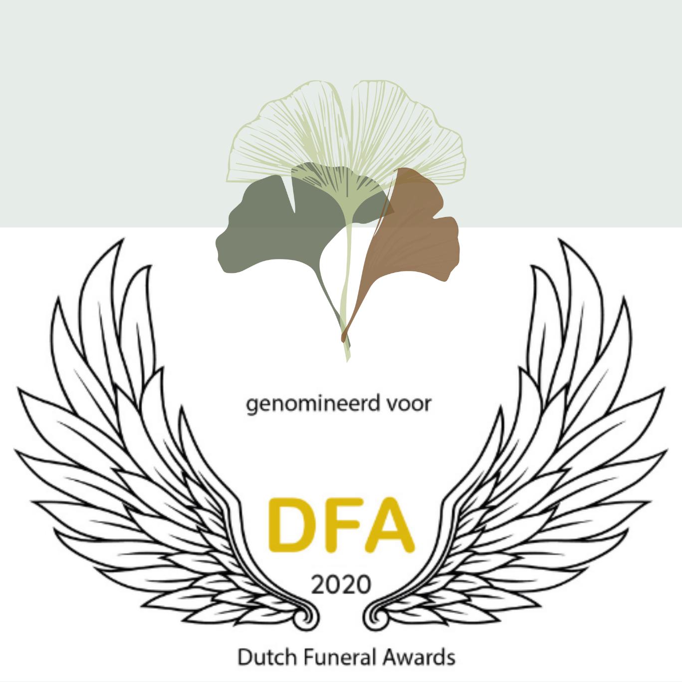 Natuurlijk Afscheid uitvaartbegeleider natuurbegraven nominatie Dutch Funeral Awards 2020